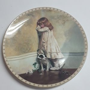 "Collector Plate ""In Disgrace"""